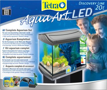 Tetra AquaArt LED 20 Liter (SHRIMPS)